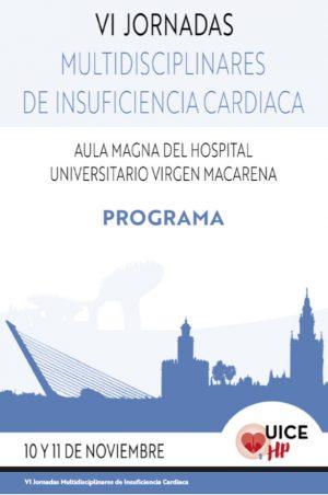 VI Jornadas multidisciplinares andaluzas de Insuficiencia Cardiaca